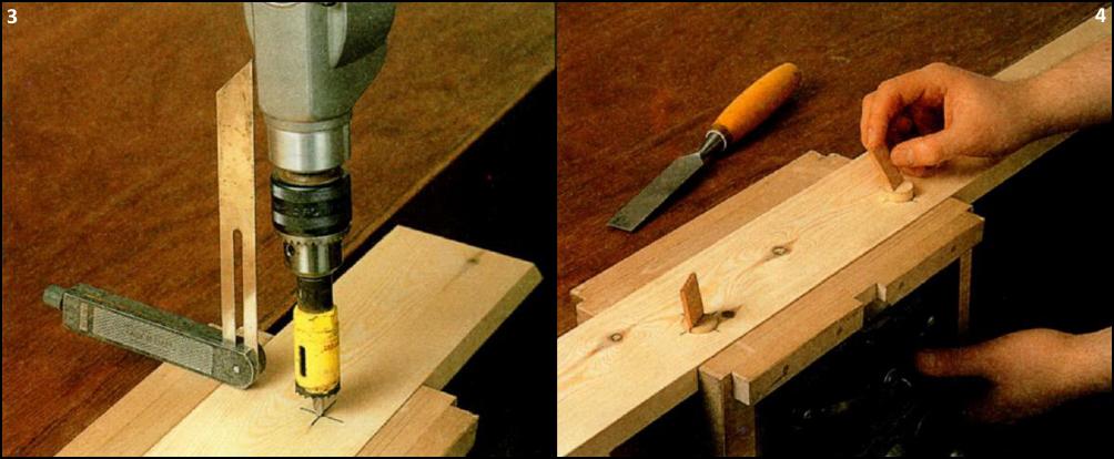 Как сделать деревянную полку видео