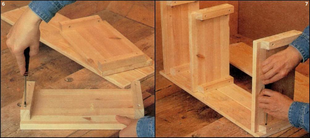 Сделать шкаф из дерева