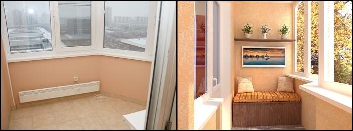 Как сделать балкон теплый