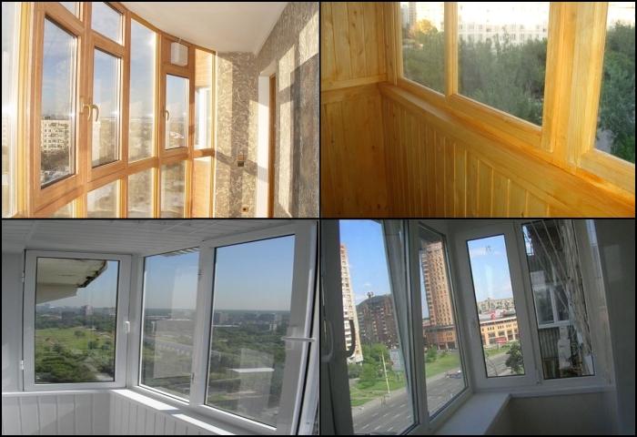Остекление балконов дома. виды остекления: теплое и холодное.