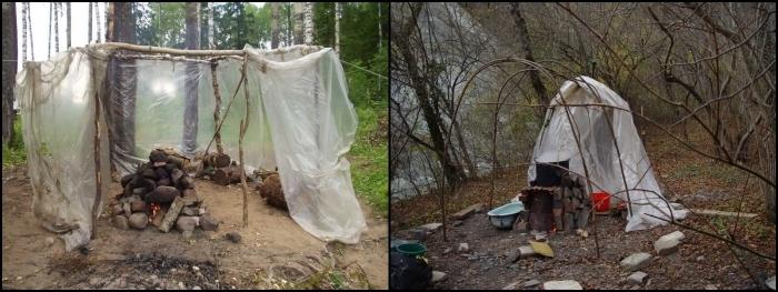 Как сделать шатер на природу 72