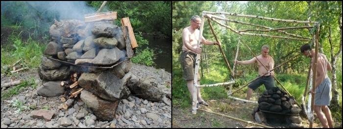 Баня на камнях как сделать